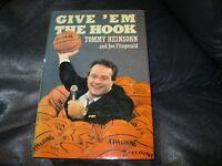 Give 'em the Hook Autographed by Tom Heinsohn JSA Auction Certified