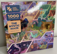 "Magic Puzzle Company ""The Mystic Maze"" Complete 1000 piece Jigsaw Puzzle"