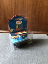 RARE Retired Thomas Wooden Railway Handcar 2001 New In Box!