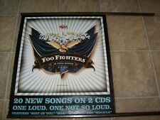 Foo Fighters In Your Honor 2Sided Promotional Record Store Promo Rock Cd Poster