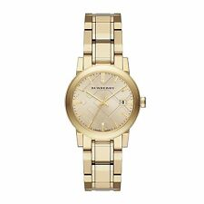 NEW Burberry Light Champagne Dial Light Gold-tone Ladies Watch BU9134