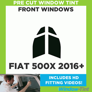 Pre Cut Window Tint - Fiat 500X 2016 Front Windows