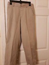 Boys Size 14 Husky Relaxed Fit Kaki School Uniform Pants Euc