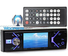 "POWER ACOUSTIK PD348B 3.4"" CD DVD BLUETOOTH MP3 USB SD 300W AMPLIFIER CAR STEREO"