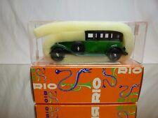 RIO ITALIA 41 LANCIA DILAMBDA 1929 - GREEN + BLACK 1:43 - EXCELLENT IN BOX