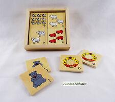 Gesellschaftsspiele aus Holz mit Tier-Thema