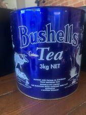 vintage bushells tea tin