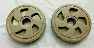 "7"" Diameter Wheels (2) for Ames/True Temper Reel Easy Poly Hose NeverLeak Cart"