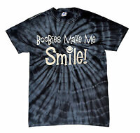 BOOBIES MAKE ME SMILE! TIE DYE T-SHIRT FUNNY Assorted Colors Sizes S-5XL MUST!!!