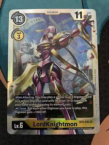 LORDKNIGHTMON BT5-045 Mint Digimon Card Game BT05 BATTLE OF OMNI