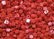 200 x LEGO® Brick studs / Steine 1x1 mit Noppen (47905 ) in Rot / Red NEU