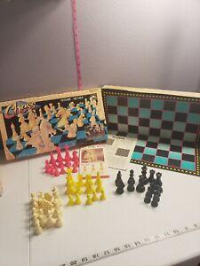Vintage 1992 Golden Chess Game