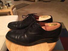 809a0daf98186 Barker For Russel & Bromley Black Men's UK8 US8.5 England Captoe Oxfords  Shoes