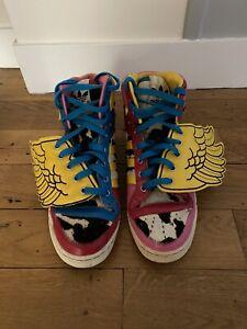 Adidas X Jeremy Scott Js Wings Ailes Collab Shoes Sneakers Chaussures 40 2/3 EUR