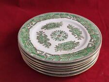 Gorgeous Andrea By Sadek Salad Plates Green Japan Set 6 No Chips A+