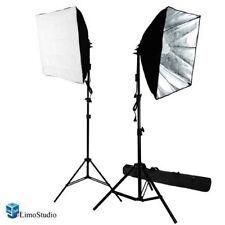 "700W Photography Studio 24""X24""Softbox Light Lighting Stand Kit Photo Equipment"