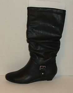 New Women's New Directions Largo Boots Shoes Size 6 6.5 7 7.5 8 8.5 Black