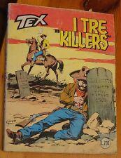 -TEX  TRE STELLE n.216  I tre killers- (febbraio 1982) lire 700
