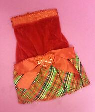 XS 21 cm ROSSO CONTROLLO TARTAN Vestito Cane Maglione Top Chihuahua Yorkie Pom PUPPY