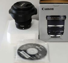 Canon EF-S 10-22mm f/3.5-4.5 USM Lens in Excellent Condition