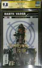 Darth Vader #23 Galactic Icon Variant_CGC 9.8 SS_Signed by Bill Hargreaves IG-88