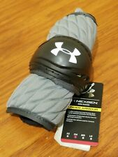 Under Armour NexGen Lacrosse Arm Guard single - Gray / Black - SM S Small
