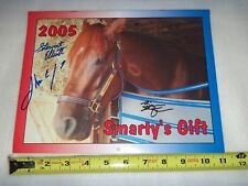 2005 SMARTY JONES Calendar Signed Jockey Stewart Elliott + More  KENTUCKY DERBY