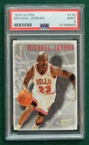 Michael Jordan basketball card graded PSA 9 Mint  1996 Ultra Chicago Bulls GOAT