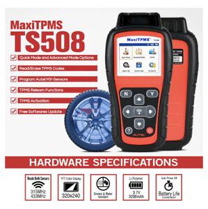 Autel Maxi TPMS TS508 - New Generation TPMS Diagnostic & Service Tool