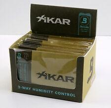 12 x Xikar Boveda Humidipak 2-way Humidifer groß 72% Befeuchter für Humidore