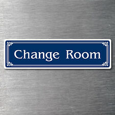 Change Room Sticker quality 7 year water & fade proof vinyl clothes shop