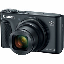 Canon PowerShot SX740 HS Digital Camera (Black) 2955C001