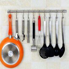 20 Steel S Hooks Kitchen Pans Pots Garden Utensil Garage Clothes Hanger Hanging