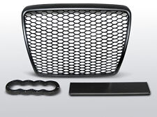 SHIELD POWER, GRILLE, GRID AUDI A6 C6 09-11 BLACK RS-STYLE