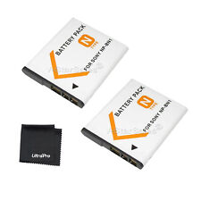 2x NP-BN1 NPBN1 Battery + BONUS for Sony DSC-QX10/TF1/TX66/TX?200/TX20/TX30/T?X1