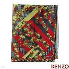 KENZO LADIES AUTHENTIC FASHION SCARF - MADE IN ITALY BY KENZO BNIB #880
