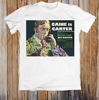 GET CARTER 1970's RETRO MOVIE POSTER UNISEX T-SHIRT