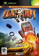 FlatOut  Xbox EXCELLENT CONDITION  with book