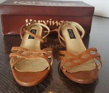 Karvings  Women's Light Brown  Size 5 Clog Sandal Women Shoes
