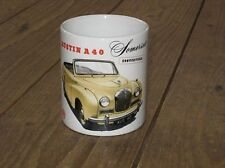 Austin A40 Somerset Convertable Wht Advert MUG