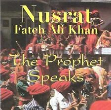 NUSRAT FATEH ALI KHAN - PROPHET SPEAKS USED - VERY GOOD CD