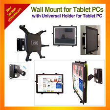 Wall Mount fixed with plate for Tablet+Universal Holder for iPad,Galaxy Note10.1