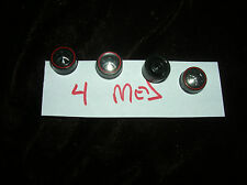 4 med HOTWHEELS RED LINE PARTS SET OF 4 RED LINE REPO WHEELS SET OF 4 TOTAL