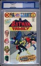 Batman Family #2 CGC NM 9.4 Monterey