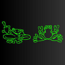 Good FROG Bad FROGS Set-of-2 REALLY COOL Decal Stickers