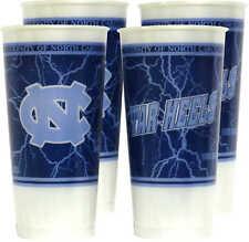 North Carolina Tar Heels  24 oz. Souvenir Cups - 4/pkg
