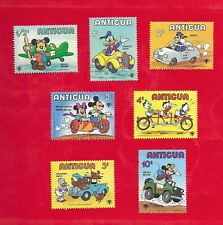 Group of 7 Antigua Disney Mnh Stamps Scott's #s 562-568 From 1980