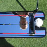 Tragbar Golf Putting Spiegel Mirror Trainingshilfe Trainer Übung Ausrichtung