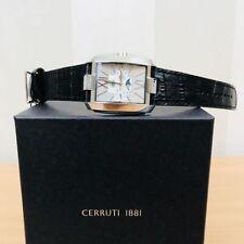Cerruti CRB038C212H Herrenuhr Chronograph Datum Edelstahl Uhr Armband