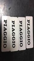 COPPIA FREGI PIAGGIO targhetta adesivo stickers ciao si boss grillo PERFETTI
